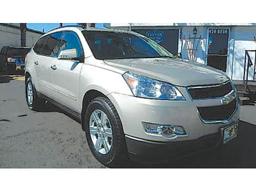 2012 CHEVY TRAVERSE LT AWD 3rd row great on gas 12495 8835136858 CENTRAL COAST CAR CO 15