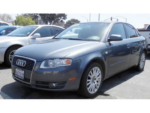 2006 AUDI A4 20T Moonroof leather Call for price 1133272201 SBCARCO 1001 West Main St Sant