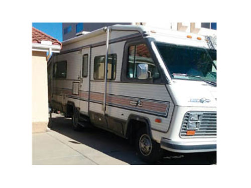 1985 ALITE MOTORHOME 28 very clean new motor microwave awning extra tray for the back in goo