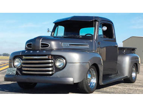 1950 FORD F1 New tires new 4 whl disc brakes drilled slotted rotors rblt ford 9 31 spline axle