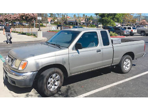 2000 NISSAN FRONTIER 5 speed AC CD stereo good tires  brakes original owner 120K well maint