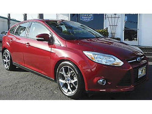 2014 FORD FOCUS Leather premium wheels low miles 9995 8840314018 CENTRAL COAST CAR CO 157