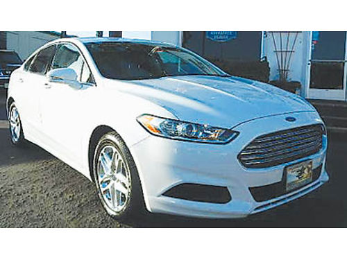 2013 FORD FUSION SE Ecoboost low low miles Local trade-in 11995 8839114942 CENTRAL COAST