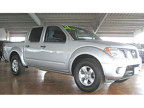 2012 NISSAN FRONTIER Crew Cab new tires low miles 17494 35178T470602 Pre-owned SANTA MARI