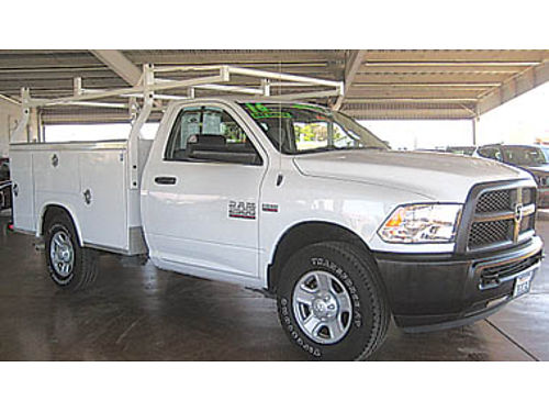 2016 DODGE RAM 2500 TRADESMAN only 7K miles work ready 33993 46930T229521 Pre-owned SANTA