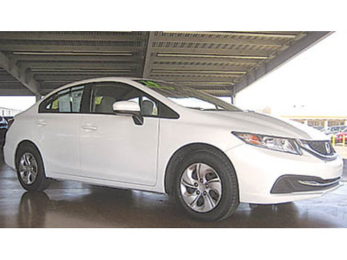 2014 HONDA CIVIC LX low miles 12994 43240P034750 Pre-owned SANTA MARIA CHRYSLER DODGE JEEP