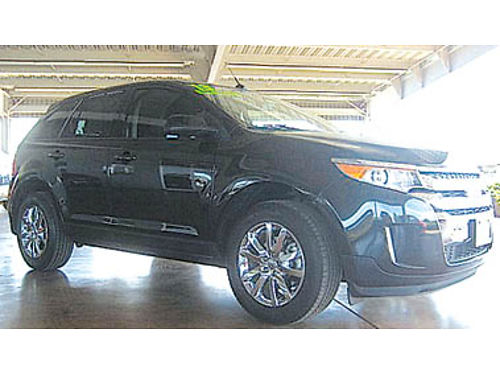 2013 FORD EDGE SEL Loaded Must see 19494 33215PE26252 Pre-owned SANTA MARIA CHRYSLER DODGE