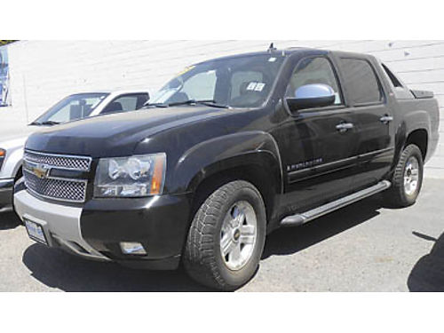 2008 CHEVY AVALANCHE LTZ Z71 pkg low miles leather moonroof 18995 P1611259006 Only at WIN