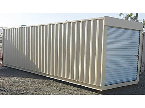 STORAGE CONTAINER new 20 roofs coated white  metal roof vents installed keeps unit contents co