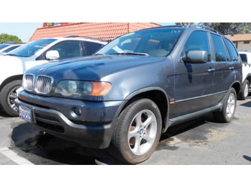 2003 BMW X5 Leather moonroof 6995 1105V78914 SBCARCO 1001 West Main St Santa Maria 805-61
