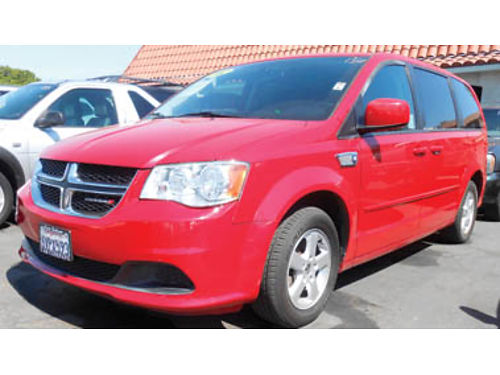 2012 DODGE CARAVAN 7 passenger low miles 10995 1210322381 SBCARCO 1001 West Main St Santa