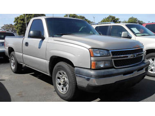 2006 CHEVY SILVERADO 6cyl manual only 49K miles 8995 1218241760 SBCARCO 1001 West Main St