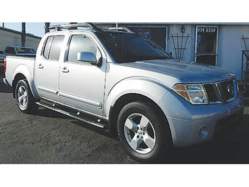 2007 NISSAN FRONTIER CREW CAB 1-owner roof rack certified pre-owned low miles Reduced to 1369