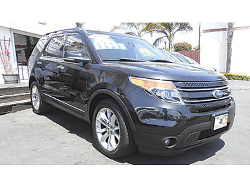 2013 FORD EXPLORER Leather one owner 3rd row a must see 17995 457887 CENTRAL COAST CAR CO