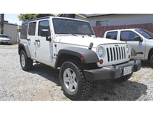 2008 JEEP WRANGLER UNLIMITED 4x4 one owner new off-rd tires great condition 20495 919911 C