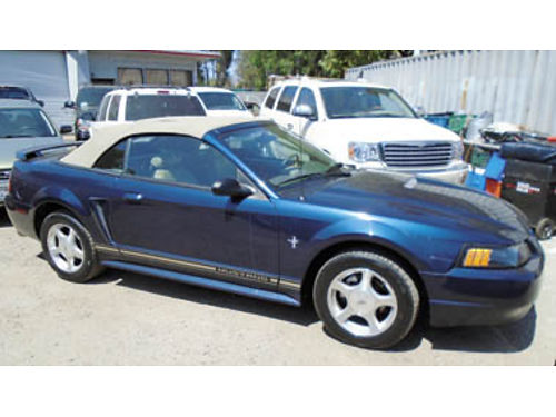 2001 FORD MUSTANG Convertible V6 AT AC very clean salvage title 2195 DW AUTO SALES By Appt