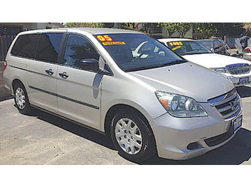 2005 HONDA ODYSSEY LX extra clean now only 4995  U2628013817 Only at FAMILY MOTORS Lompoc