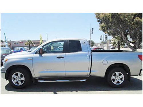2008 TOYOTA TUNDRA 57L 1 owner non-smoker all service receipts tow pkg back-up senser leathe