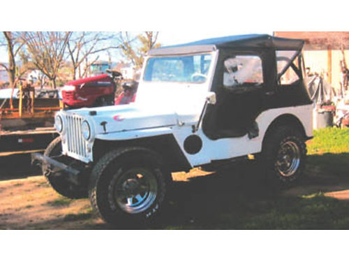 1947 JEEP CJ2 70 year survivor V6 rebuilt 3 spd new top new Holley carb rebuilt radiator new