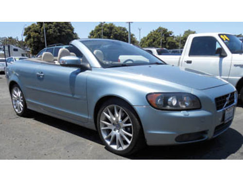 2008 VOLVO C70 Convertible leather 5cyl one owner 7995 1238050613 SBCARCO 1001 West Main S