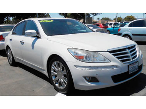 2009 HYUNDAI GENESIS LTD 6cyl leather moonroof navigation 8995 1237032766 SBCARCO 1001 We