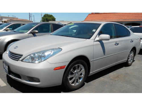 2002 LEXUS ES300 Full service history moonroof leather 6995 1213034022 SBCARCO 1001 West M