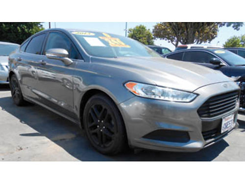 2013 FORD FUSION low miles 11995 1284179335 SBCARCO 1001 West Main St Santa Maria 805-614