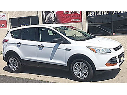 2013 FORD ESCAPE S only 59K miles 12992 7552A74373 BEST BUY AUTO SALES over 100 cars in sto