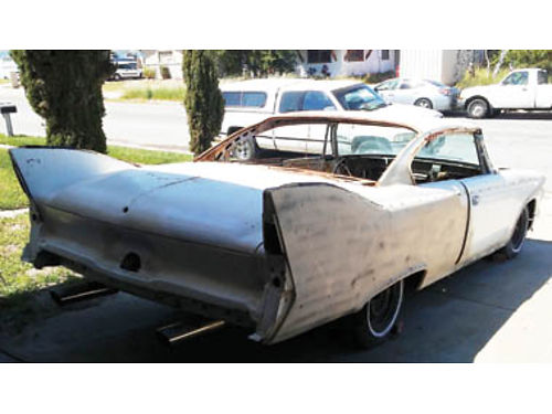 1960 PLYMOUTH FURY 2 door hardtop project runs Parts restored rechromed extras Newly built engine