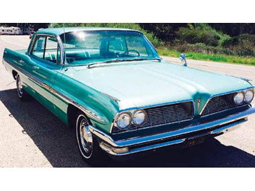 1961 PONTIAC BONNEVILLE 4 door hardtop 62K original miles 389 ci 4 speed automatic Best looking