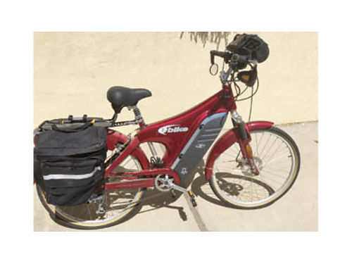 ELECTRIC TOURING BICYCLE Own a Lee Iococca Special Edition model Mint condition only 4 hours of u
