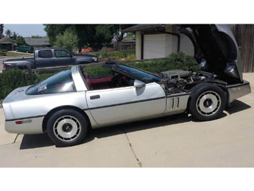 1984 CORVETTE Fully loaded 30 Year Anniversary Edition Only 90000 miles 5500 Call 805-720-555