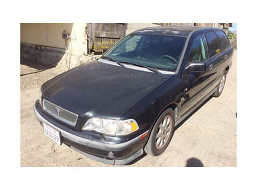 2000 VOLVO V40 WAGON 153K miles 4 cyl AT Salvage title needs VVT sensor for smog 1000 Purchas