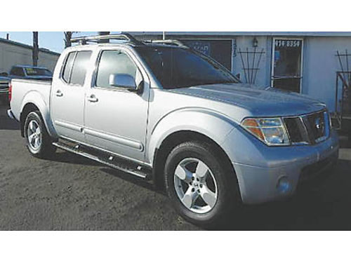 2007 NISSAN FRONTIER Crew Cab 1 owner roof rack Certified Pre-owned low miles 13495 885643