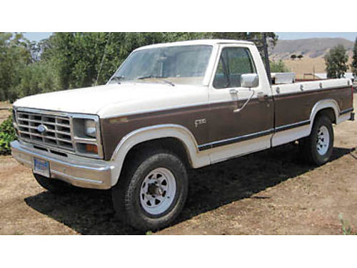1983 FORD F-150 4x4 Low miles Crate engine replacement 351 cid body rough runs good registered