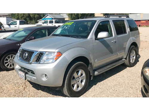 2012 NISSAN PATHFINDER - Silver Ed4X4 40L at ac phtd sts bu cam 3rd row 6335571799