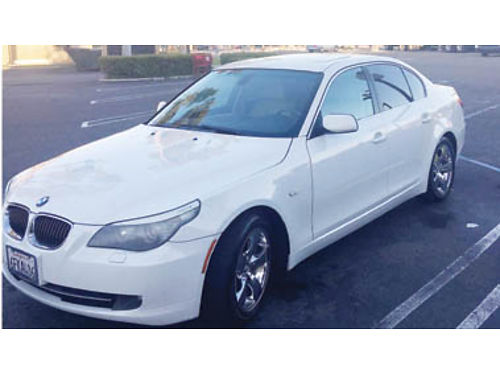 2008 BMW 528i In good condition Clean White tan leather interior auto everything sunroof new