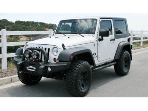 2008 JEEP WRANGLER X Excellent condition clean CarFax only 76450 miles over 12K of AEV Off-ro