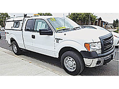 2013 FORD F150 - SUPERCAB XL 4WD UTILITY 50L V8 at ac pw pdl CD tow 117K mi E06680 189