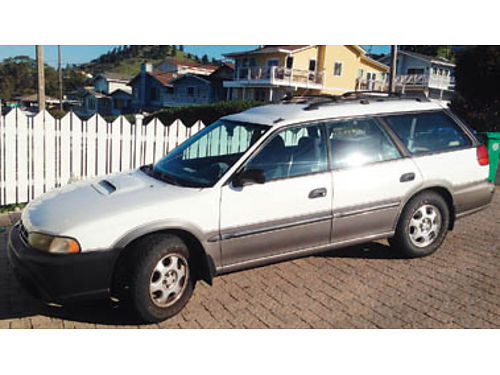 1997 SUBARU OUTBACK LEGACY 25L 5 speed just detailed new all terrain tires