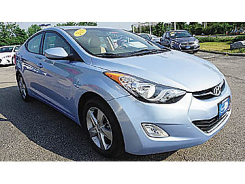 2013 HYUNDAI ELANTRA GLS Economical 11995 Pic for illustration only P2159847117 Only at WIN