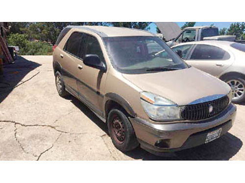 2004 BUICK RENDEZVOUS 209000 miles Runs rough V6 Auto trans has about 100 in back fees 1000