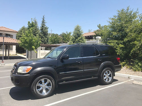 2005 TOYOTA SEQUOIA SR5 - 47L at ac dual pseats pwd pdl at abstrctn cntrl touch screen M