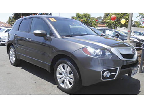 2011 ACURA RDX turbo navigation leather 12495 U2638002256 Only at FAMILY MOTORS Santa Mar