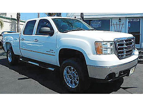2009 GMC SIERRA 2500 HD Crew Cab only 79K miles diesel immaculate condition 31995 888711183