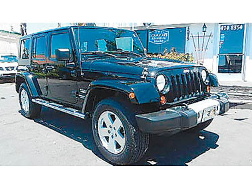 2009 JEEP WRANGLER SAHARA 4x4 nav backup camera hard to find hardtop 21495 8885756337 CENT