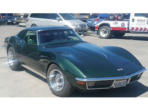 1970 CHEVY CORVETTE T-Top coupe 350350 AC PS PB runs  drives xlnt Call for details 19500