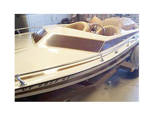 1980 SOUTHWIND JET DRIVE Ski Boat 496 Chevy Gale Banks Twin Turbo engine Jetovator tow cover incl