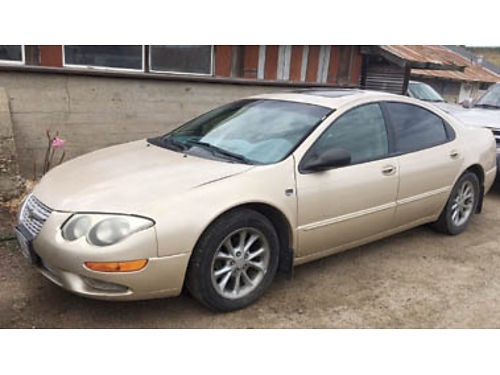 2000 CHRYSLER 300M 185000 miles 6 cyl auto trans needs minor repairs 1500 Purchase supports l