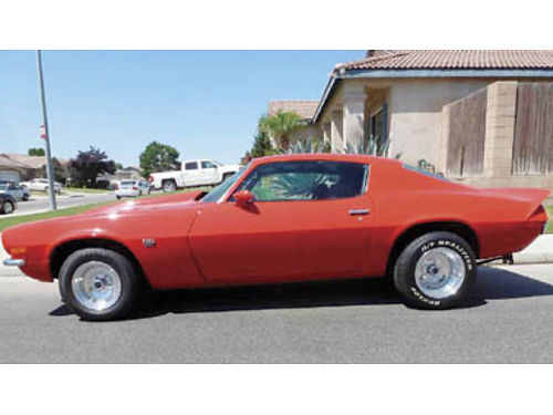 1972 CAMARO SSRS 50 restored many new and restored features and equip 350 wstroker kit header